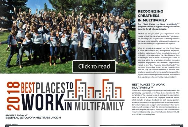 Multifamily Leadership Magazine™